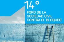 Primer llamamiento al XIV Foro de Organizaciones de la Sociedad Civil Cubana contra el Bloqueo